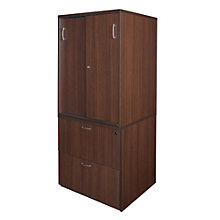 "Sandia 2 Drawer Lateral File with Storage Cabinet - 30""W, 8801592"