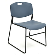 Armless Plastic Stack Chair, 8803044