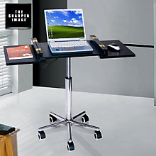Techni M Height Adjustable Laptop Cart, RTP-SIB006