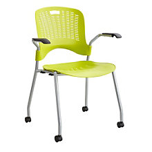 Sassy Mobile Perforated Stack Chair, SAF-11128