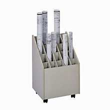 Mobile Roll File - 20 Compartments, SAF-3082