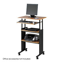 Standing Height Mobile Computer Workstation , 8801481