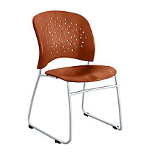 Reve Sled Base Guest Chair in Plastic Wood , 8801638