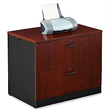 Via Locking Two Drawer Lateral File, 8803853