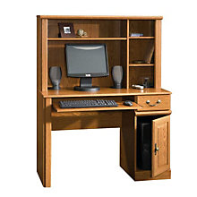 Orchard Hills Small Space Computer Desk with Hutch, 8802590