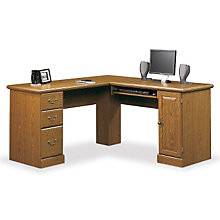 "Orchard Hills Compact Computer L-Desk - 59.5""W, 8802588"