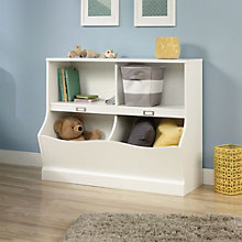 """Storybook Cubby Bin Bookcase - 33""""H, 8804595"""