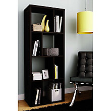 "Reveal Eight Cubby Space Modern Bookcase - 61""H, SSF-10984"