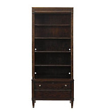 """Avalon Heights Five Shelf Bookcase with Drawer - 82.25""""H, 8804772"""