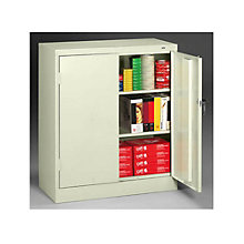 """Ready to Assemble Steel Counter Height Storage Cabinet - 36""""W x 18""""D x 42""""H, 8804097"""
