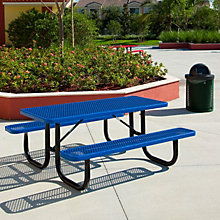 Thermoplastic Coated Picnic Table - 6'W, ULT-238-V6
