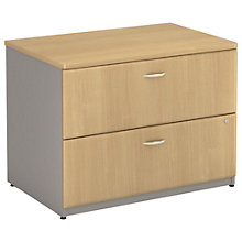 "Series A Unassembled Two Drawer Lateral File - 36""W, BUS-10122"