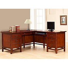 """Willow Creek L-Desk with Right Return - 68.5""""W, 8803364"""