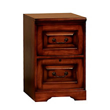 """Country Cherry Two Drawer Vertical File - 18.5""""W, 8803378"""