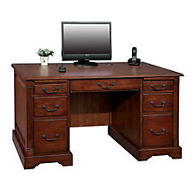 "Country Cherry Compact Desk - 57""W, 8803382"