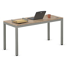 "At Work Table in Warm Ash - 60""W x 24""D, 8803974"