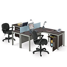 At Work Two Person Workstation Set, OFG-LD1219