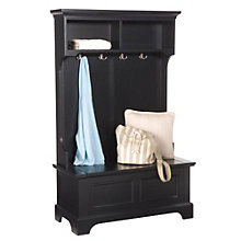 "Bedford 64"" Hall Tree With Storage Bench, 8801372"