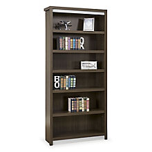 "Six Shelf Open Bookcase - 78""H , 8804481"