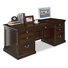 Fulton Double Pedestal Executive Desk, MRN-FL680