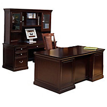 Fulton Espresso Three Piece Office Group, OFG-EX1008