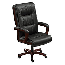 Stamford High-Back Big and Tall Leather Executive Chair, TRU-41