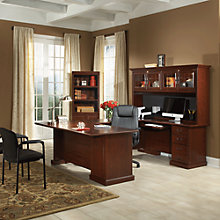 Heritage Hill U-Desk and Bookcase Set, 8802683