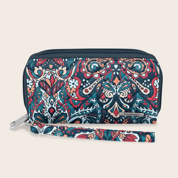 Shop Travelon RFID Boho Ladies Wallet