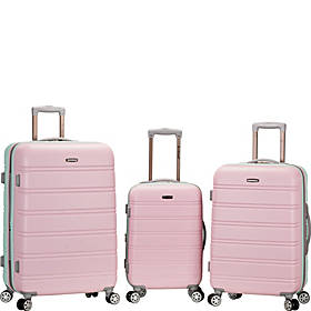 Rockland Luggage Melbourne 3-Piece Hardside Spinner Luggage Set