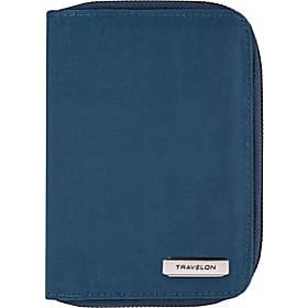 Travelon RFID Blocking Passport Zip Wallet