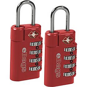 eBags TSA Accepted Lock 4-Dial Combo (2pk)