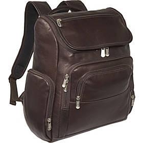 Piel Multi-Pocket Laptop Backpack