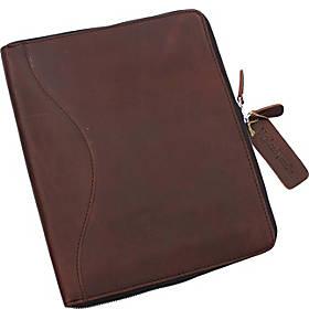 Vagarant Traveler Large Leather Portfolio Business Folder