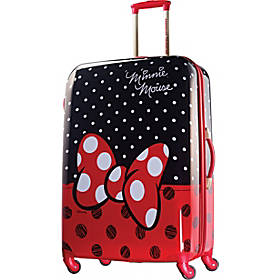 American Tourister Disney Minnie Mouse Hardside Spinner 28