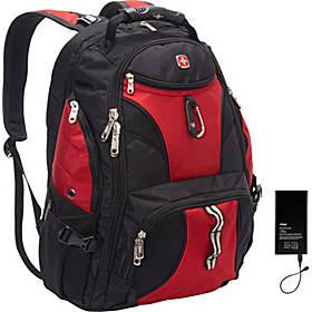 SwissGear Travel Gear ScanSmart Backpack 1900 w/ Lifeboat Battery