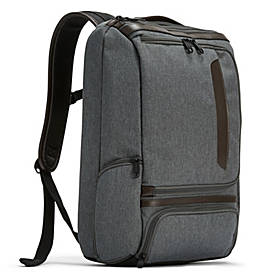 eBags Professional Slim Laptop Backpack - LTD Edition Top Grain Leather Trim