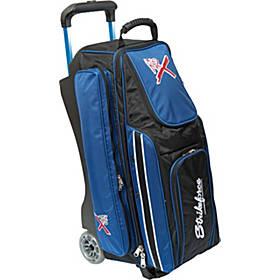 KR Strikeforce Bowling Royal Flush Triple Bowling Ball Roller Bag