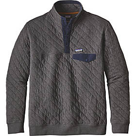 Patagonia Mens Cotton Quilt Snap-T Pullover