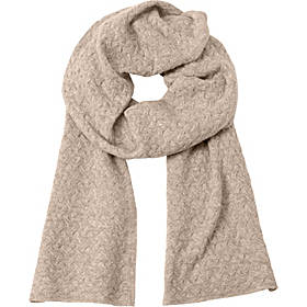 Kinross Cashmere Cable Luxury Scarf