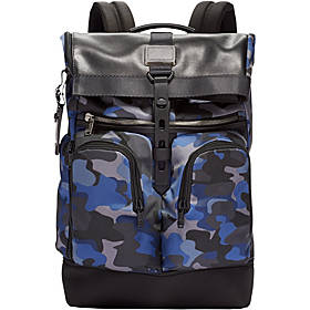 Tumi Alpha Bravo London Roll-Top Laptop Backpack