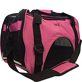 Pet Life Airline Approved Altitude Force Sporty Zippered Fashion Pet Carrier - Medium