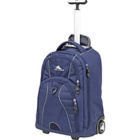 High Sierra Freewheel Rolling Backpack