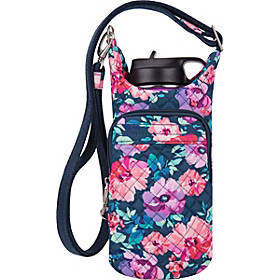Travelon Anti-Theft Boho Water Bottle Tote