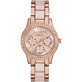 Relic by Fossil Bethany Stainless Steel and Ceramic Dress Watch