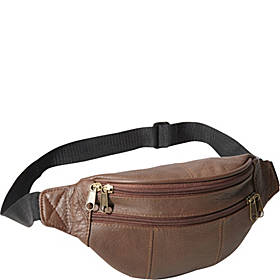 AmeriLeather Leather Fanny Pack