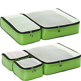 eBags Hyper-Lite Packing Cubes - Super Packer 5pc Set