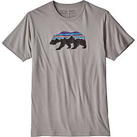 Patagonia Mens Fitz Roy Bear Organic T-Shirt