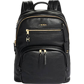 Tumi Voyageur Hartford Leather Backpack
