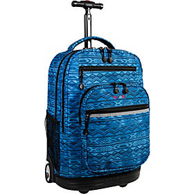 J World New York Sundance Laptop Rolling Backpack
