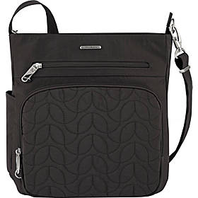 Travelon Anti-Theft Quilted North South Crossbody - Exclusive